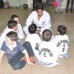 Clase especial de Taekwondo en El Expreso