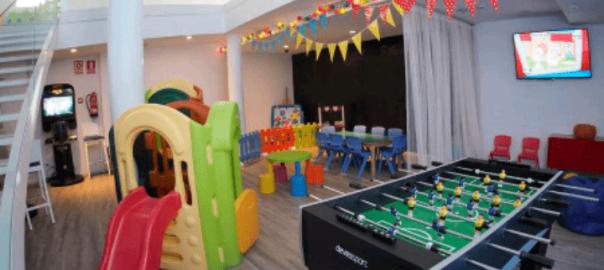 Hotel temático para niños