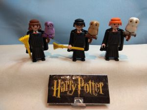 Playmobil customizados Harry Potter