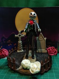 Playmobil customizados Jack Skeleton
