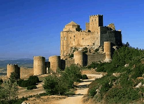 Sierra de Loarre y castillo