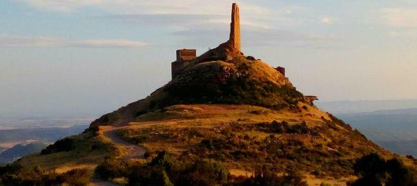Castillo de Sarsamarcuello Huesca