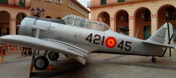 Volar, historia de una aventura exposición aviones