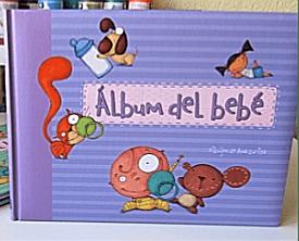 Regalos útiles para bebés álbum fotos