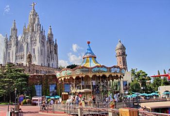 Barcelona con niños Tibidabo