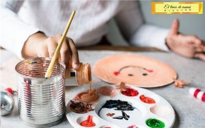 Beneficios de hacer manualidades con hijos