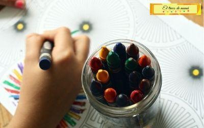 Colorear con pinturas