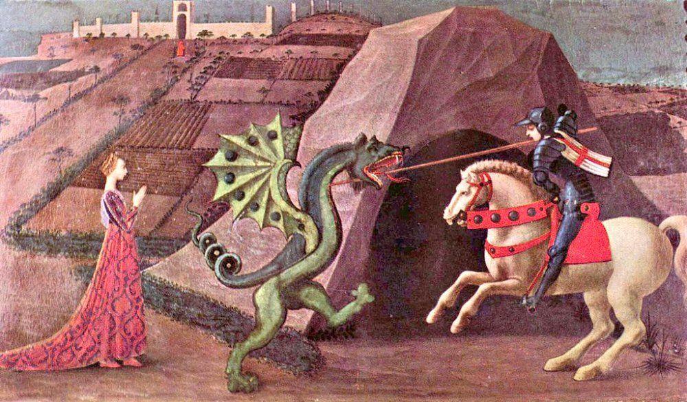 Día de San Jorge: Leyenda, rosas y dragones