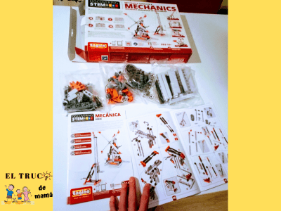 Mechanics Stem juego Engino