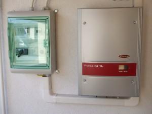 Eltszer Kft., Kiskunfélegyháza, 3 kW napelem rendszer invertere