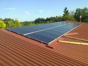 Kiskunfélegyháza, Jókai város, 6 kW-os napelemes rendszer