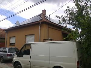 Kiksunfélegyháza, Kossuth város, 4,75 kW-os napelemes rendszer