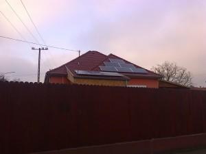 Kiskunfélegyháza, napelem rendszer bővítése, plusz 2 kW, 1-es kép