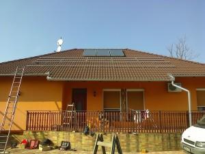 Kiskunfélegyháza, Petőfiváros, 3,5 kW-os napelemes rendszer - 2