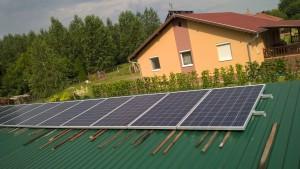 Ballószög, 4.6 kW-os naplemes rendszer, 1-es kép