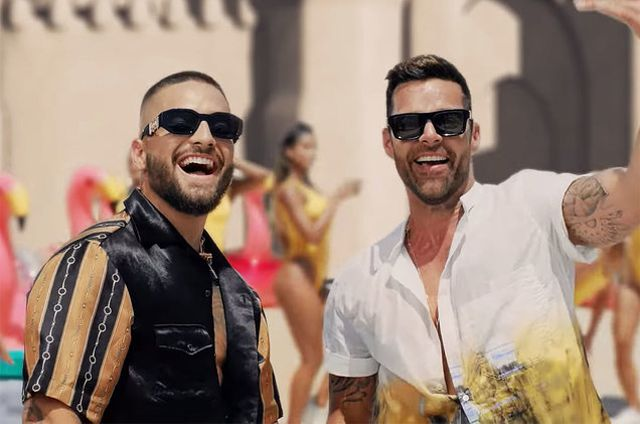Maluma y Ricky Martin