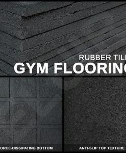 Gym Flooring - Rubber Tiles