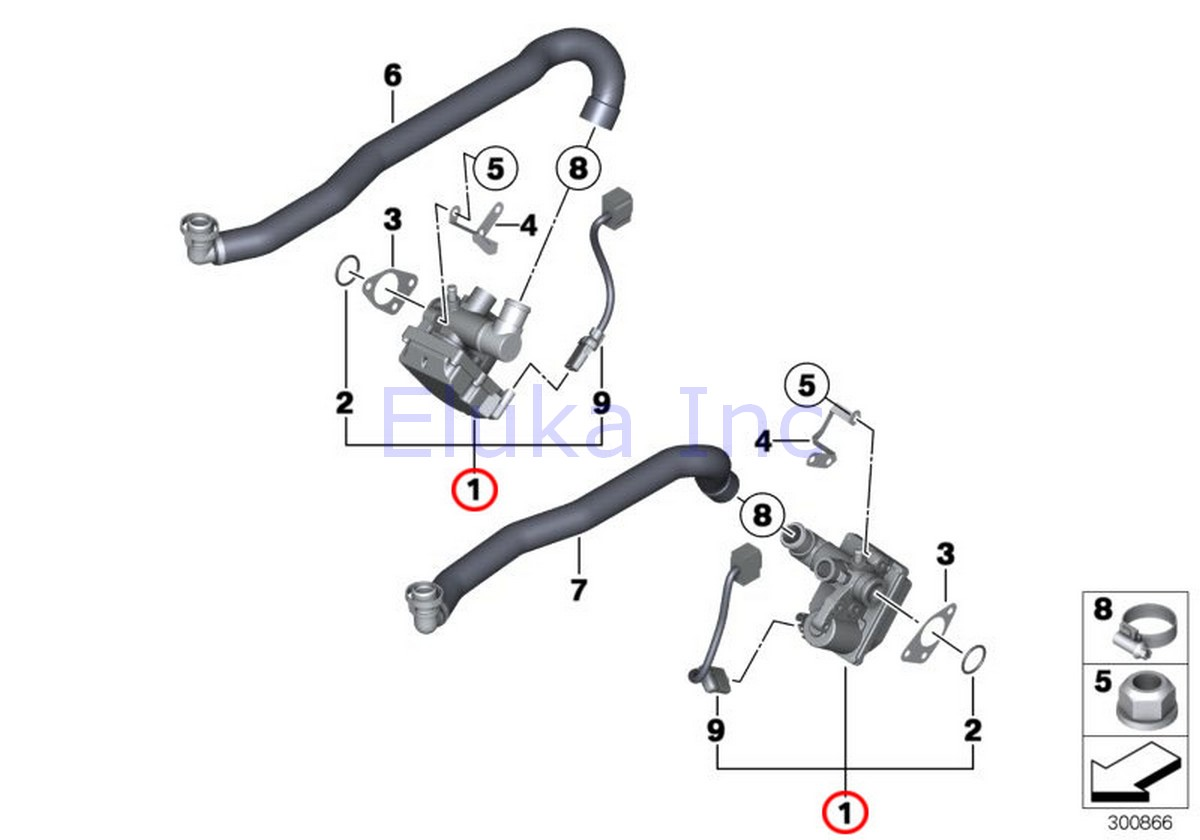 Bmw Genuine Idle Actuator Idle Control Device With O Ring