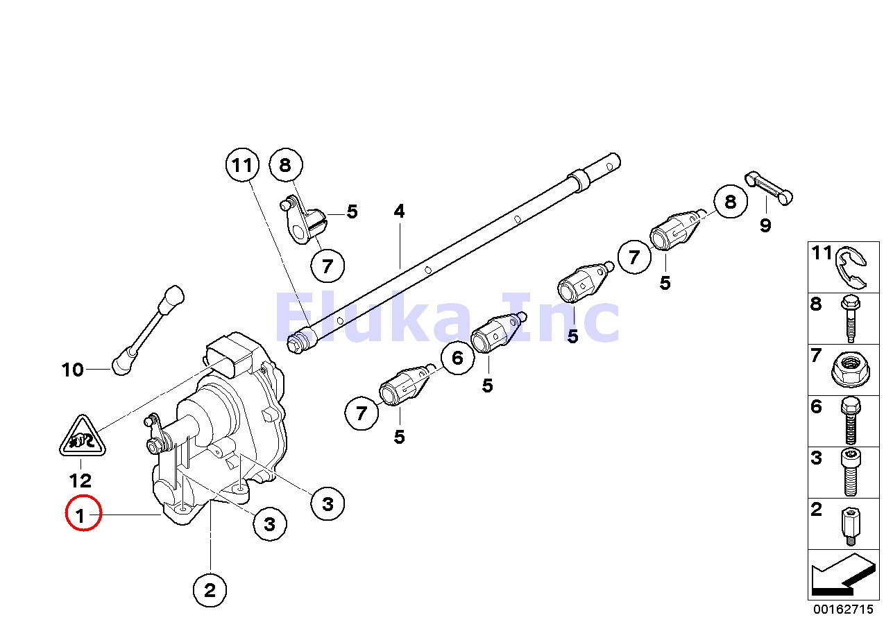 Bmw Genuine Throttle Body Acceleration Throttle Actuator