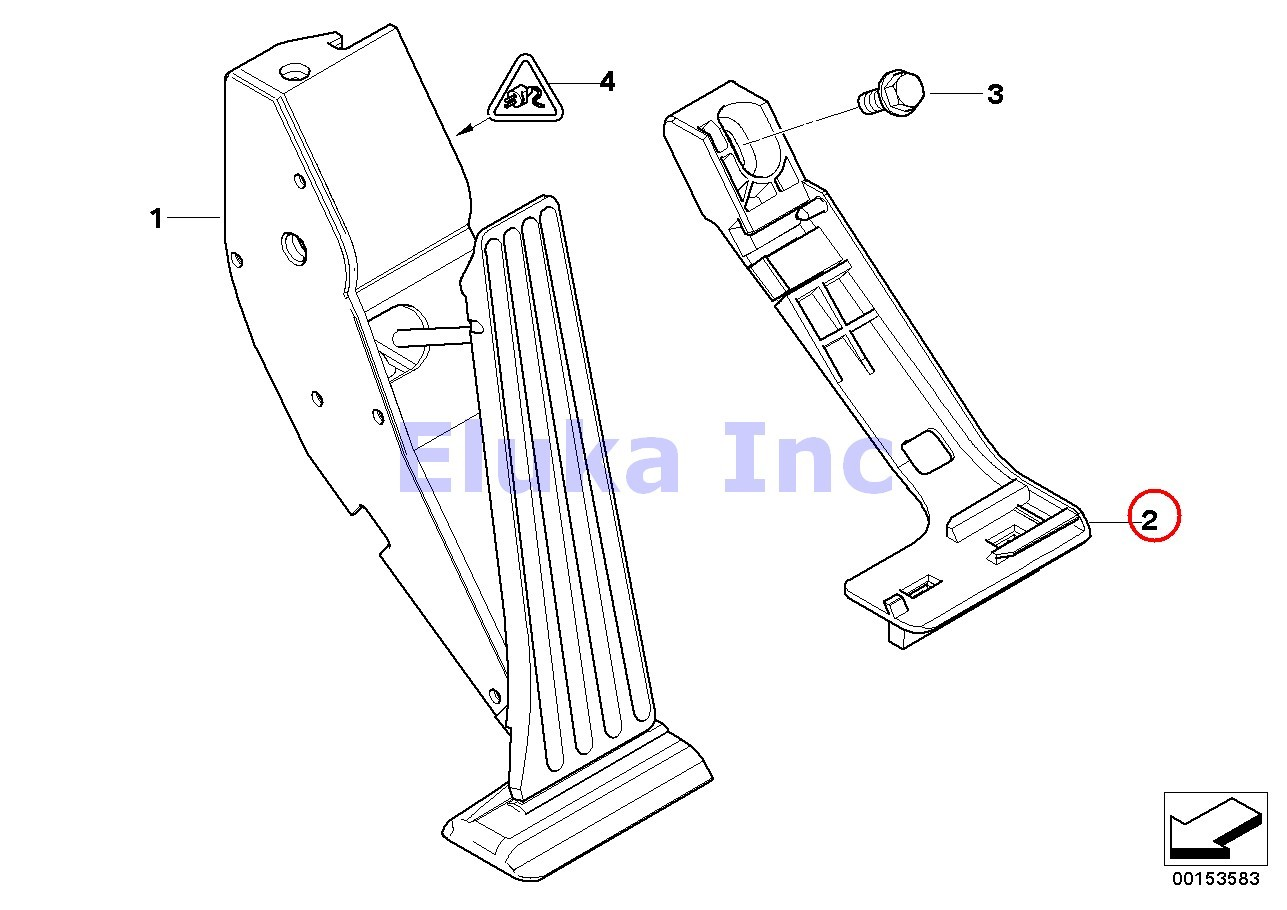 Bmw Genuine Adapter Plate