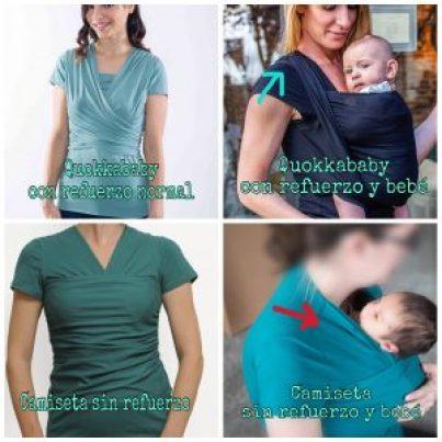 camiseta porte amarsupiel metodo canguro
