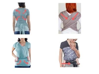 opiniones sobre camiseta de porteo y fular elastico