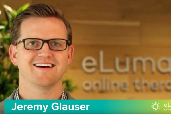 Jeremy Glauser, Founder, President and CEO of eLuma Online Therapy