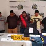 Policía frustra plan de cinco hombres para hurtar cajero automático