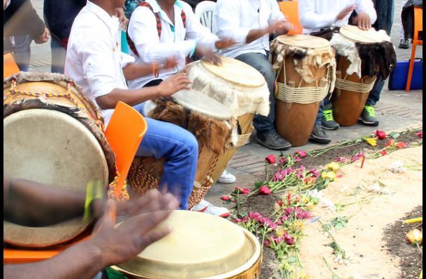 Celebración del día de la afrocolombianidad