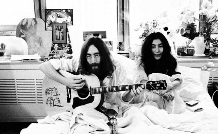 A 50 años de la boda entre John Lennon y Yoko Ono