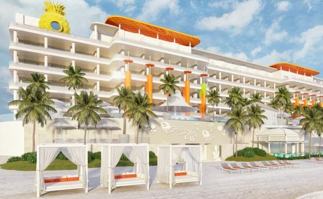 Así será el hotel de Nickelodeon que abrirá en Riviera Maya