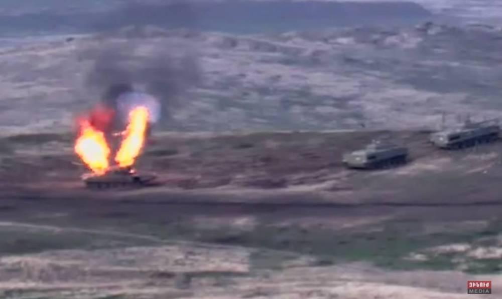 Reportan combates entre Armenia y Azerbaiyán en región separatista