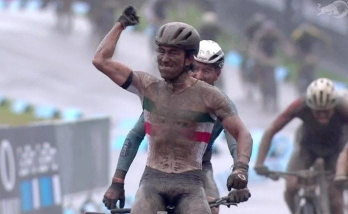 Mexican cyclist conquers cross country short track at UCI MTB World Cup 2020