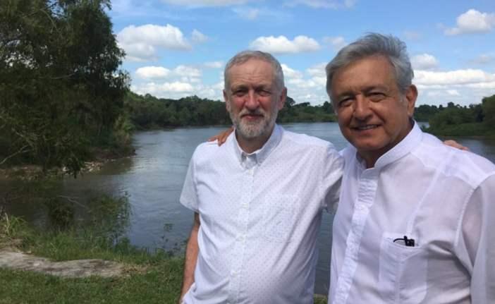 Resultado de imagen para Jeremy Corbyn y amlo