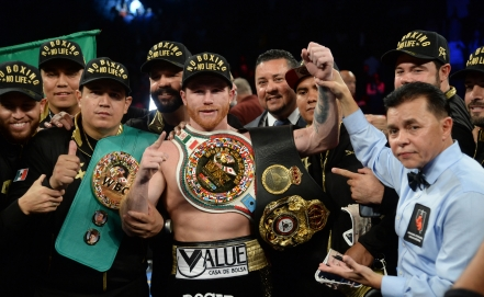 I am an elite fighter and here I showed it: Canelo