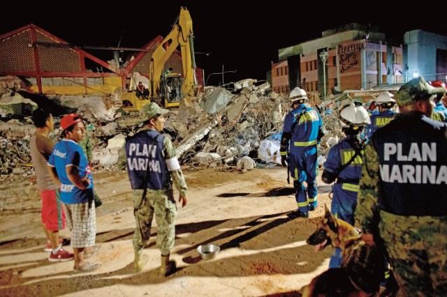 La triste y larga noche de un pueblo que quedó destruido