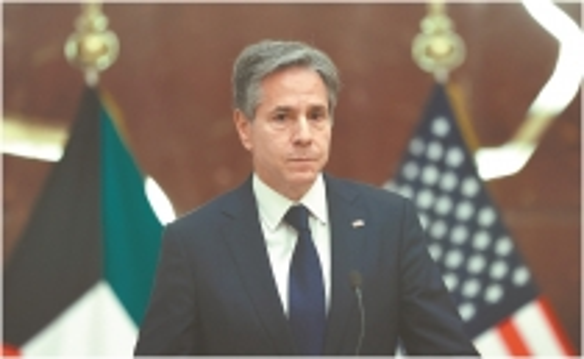 Secretario de Estado de Estados Unidos, Antony Blinken.