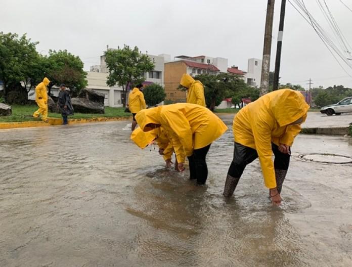 """Por tormenta """"Gamma"""", emiten alerta roja en Quintana Roo"""