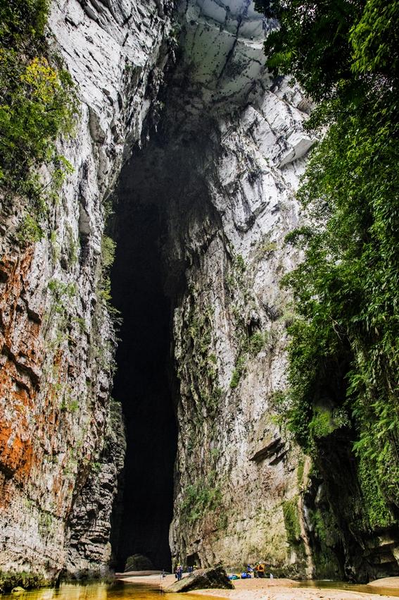 Este es el arco natural más alto del mundo y está en Chiapas