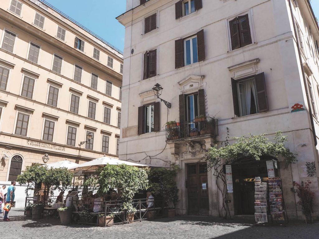 Barrio de Monti en Roma