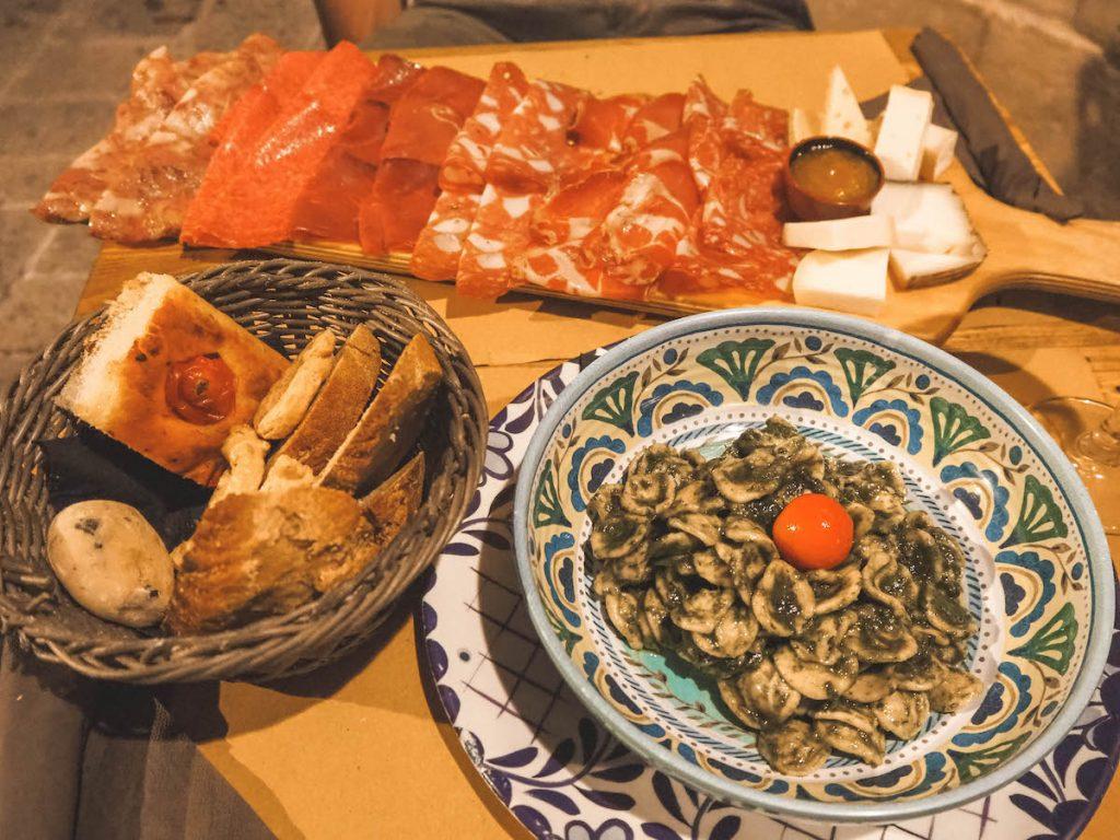 Gastronomía en Puglia