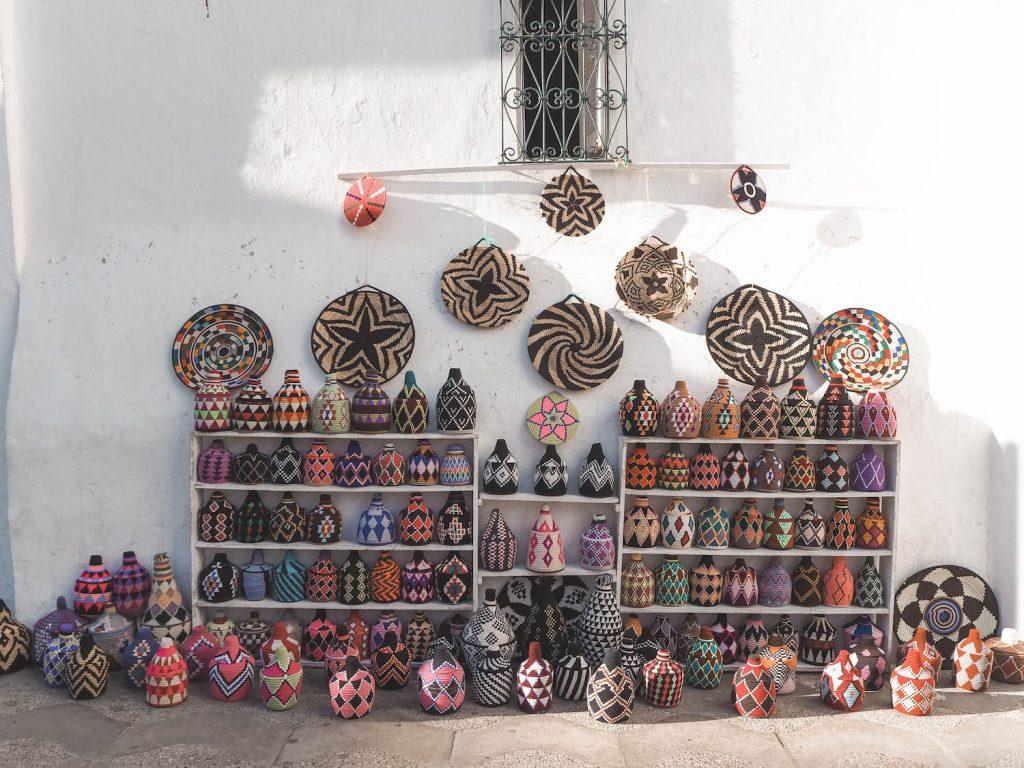 Artesanía en Assilah