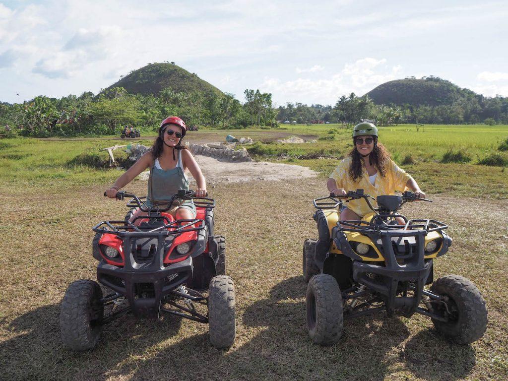 Quads en Bohol