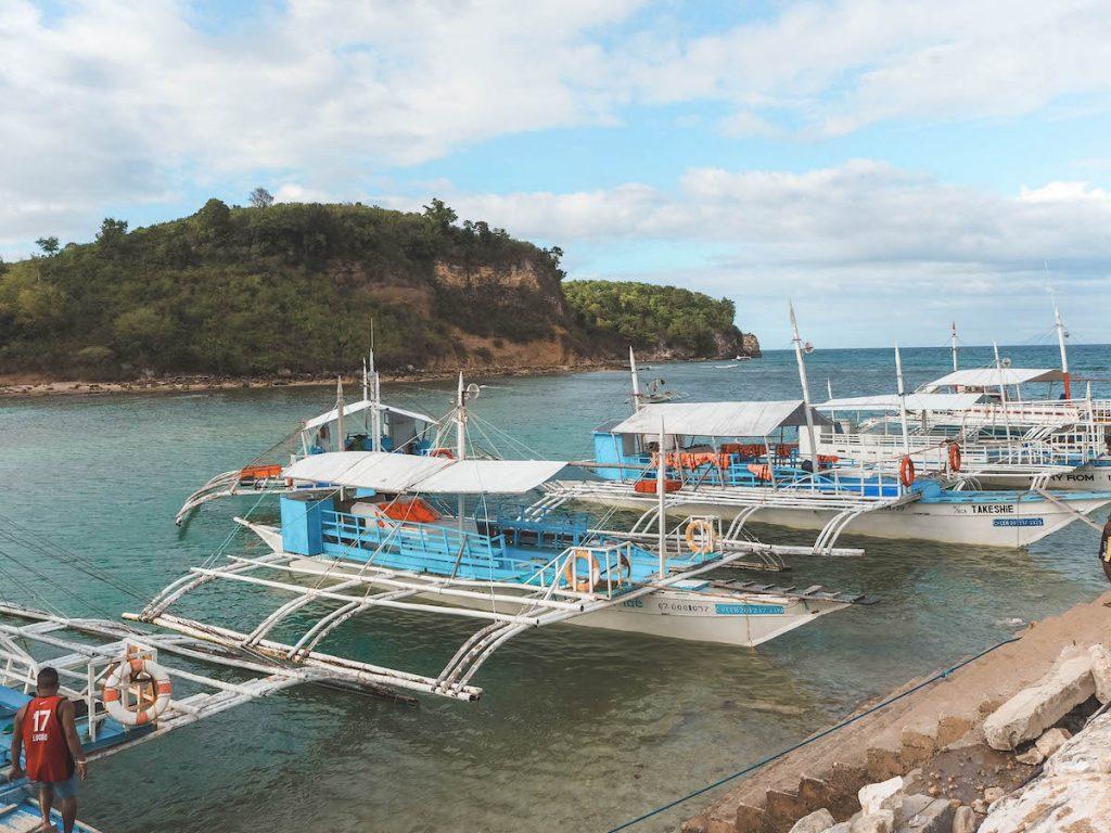 Bote a Malapascua