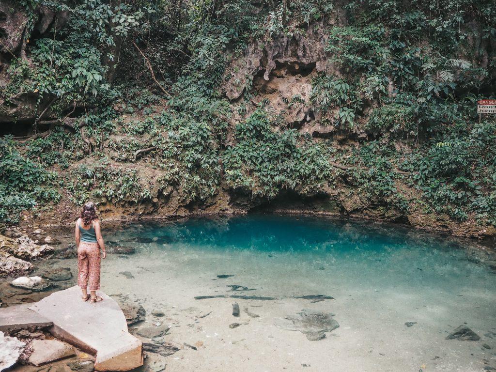 Blue Hole en Belice