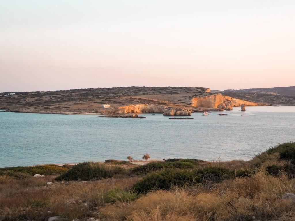 Vistas desde Mylos Koufonisia