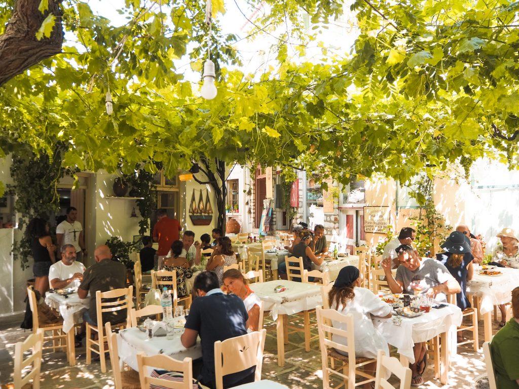 Donde comer en Naxos
