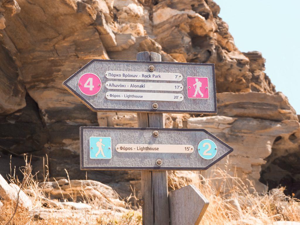 Trekking en Paros