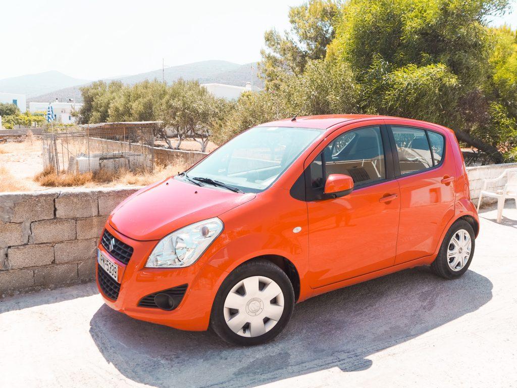 Alquiler de coche en Grecia