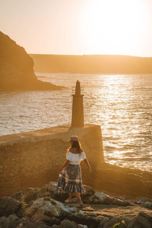 Ruta de viaje por la costa de Asturias